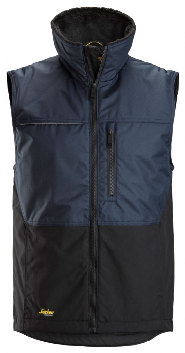 Snickers 4548 AllroundWork Winter Vest (Navy/Black)